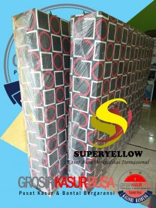 Kasur Busa Superyellow Tebal 20cm Ukuran 90x200x20 Kotak Merah