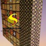 Kasur Busa Superyellow Ukuran 160x200x20 Motif LV