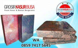 Kasur Busa Lipat 2 Cover Kain Spring Bed Bandung Ukuran 140x180x10