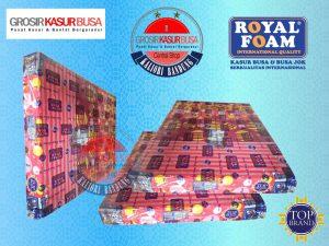 Kasur Busa Royal Pink Ukuran 120x200x20 Ketebalan 20cm
