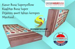 Kasur Busa Superyellow Motif Gucci Ukuran 120x200x14