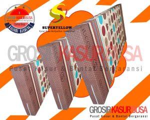 Kasur Busa Superyellow Edisi Motif Gucci Ukuran 90x200x20