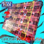 Kasur Busa Royal Pink Original Bergaransi Ukuran 140x190x15