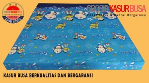 Kasur Busa Superyellow Tebal 14cm Motif Doraemon Ukuran 160x200x14