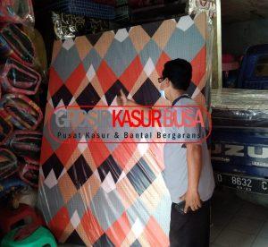 Kasur Busa Superyellow Best Seller Ukuran 100x200x14 Motif Abstrak